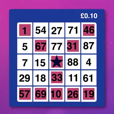 Bingo Ticket online